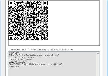 Generar y leer códigos QR Quick Response Barcode con Visual Basic .Net VB.Net