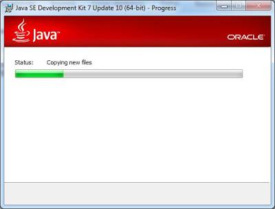Instalación de JDK 7 Update 10