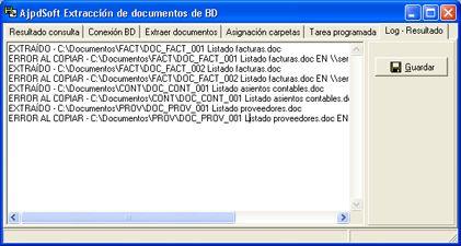 Cómo se hizo AjpdSoft Extracción de documentos de BD