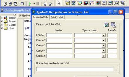 Cómo crear, acceder y manipular ficheros XML con Delphi