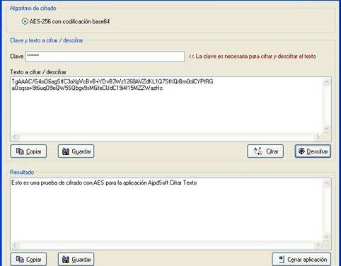 AjpdSoft Cifrar Texto Código Fuente Delphi 6