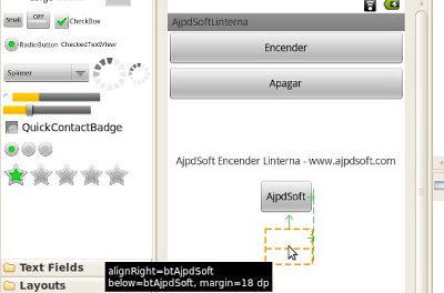 Cómo añadir un botón y su código en aplicación Android con Eclipse