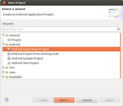 Crear proyecto Android