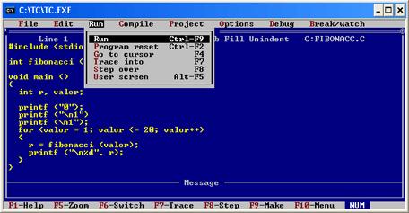 Turbo C 2.01
