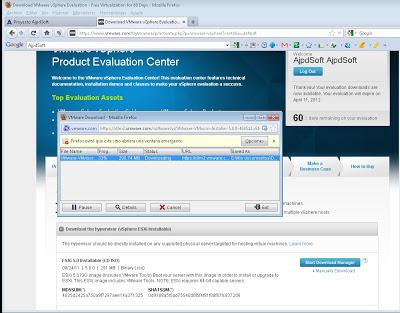 Requisitos para instalar VMware ESXi 5 virtualizado sobre VMware Workstation 7