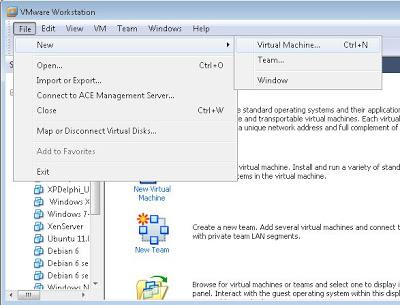 Crear máquina virtual con VMware ESXi 5 en VMware Workstation 7