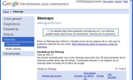 Sitemap, Mapa del sitio web. Importancia para el posicionamiento en buscadores