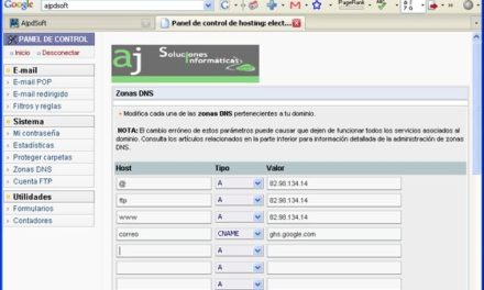 Cuentas de email gratuitas con mi dominio y Google Apps