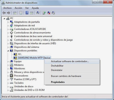 Instalar controlador driver de dispositivo de forma automática con Windows Update