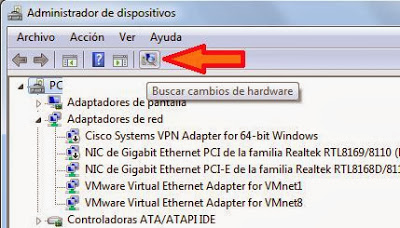 Agregar dispositivo a Windows 7 desde Windows Update y manualmente