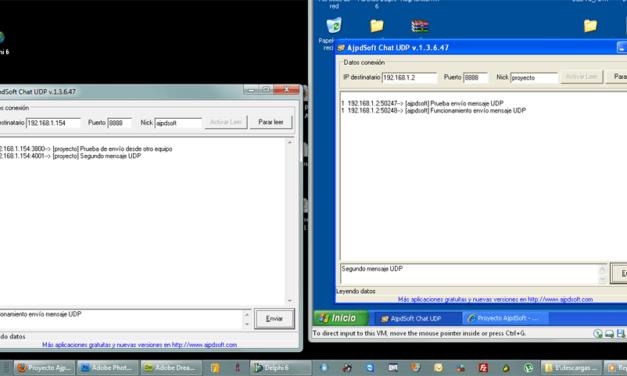AjpdSoft Chat UDP Código Fuente Delphi 6