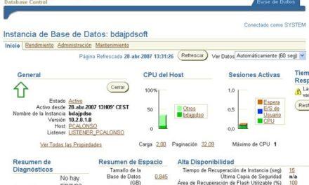 Instalar Oracle Database 10g en Windows XP