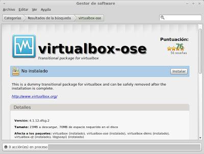 Instalar Oracle VM VirtualBox en Linux Mint