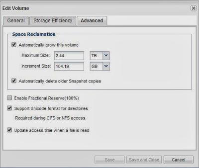 Incrementar tamaño de un volumen y LUN en una SAN NetApp