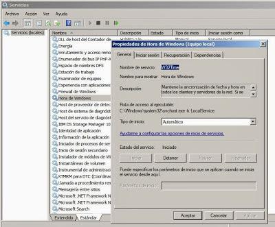Hora ROA en servidor Windows Server 2003, 2008 PDC de dominio (servidor de hora autorizado)
