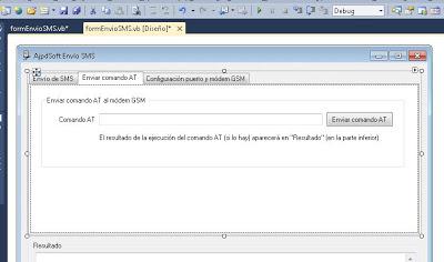 Desarrollar aplicación en Visual Basic .Net para envío de SMS mediante puerto serie y módem GSM