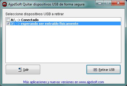 AjpdSoft Quitar dispositivos USB de forma segura Código Fuente Delphi 6