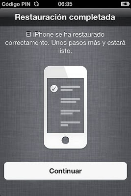 Actualizar iPhone 4 a iOS 6