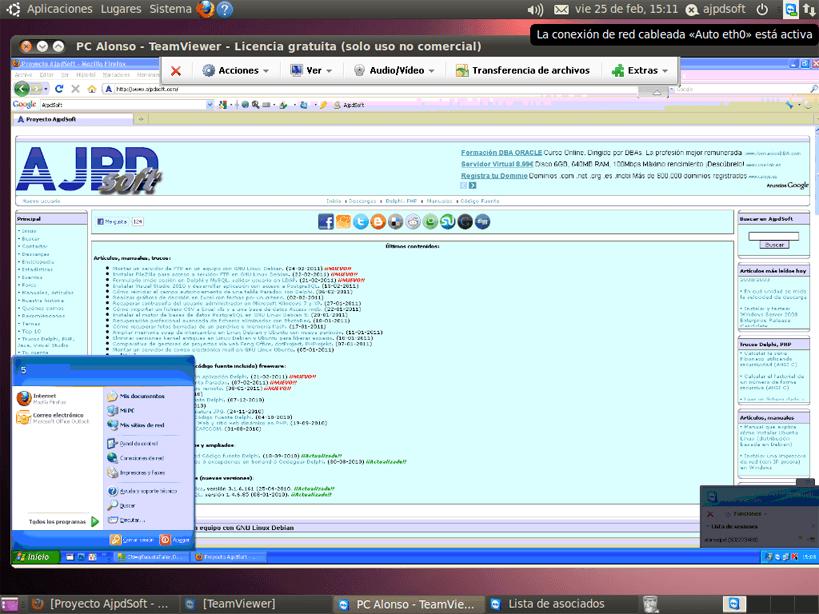 Control remoto de Windows a Linux y de Linux a Windows con TeamViewer