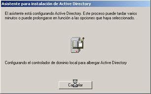 Promocionar un equipo con Windows Server 2003 a controlador de dominio