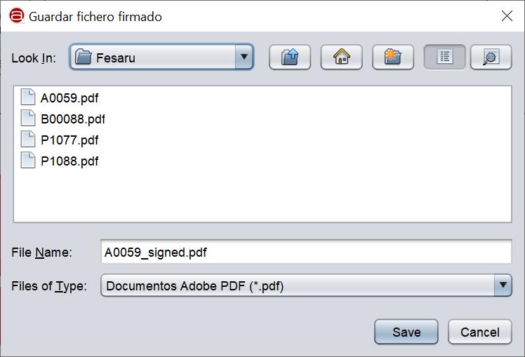 Firmar un documento PDF con AutoFirma y certificado digital