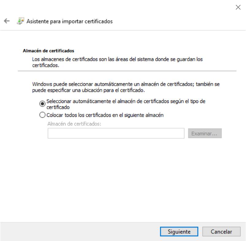 Instalar Certificado digital PFX p12