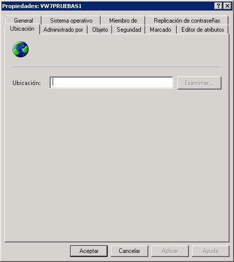 Equipos agregados al dominio LDAP Active Directory en Computers
