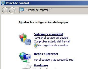 Configuración de red, IP, hostname en Microsoft Windows Server 2008