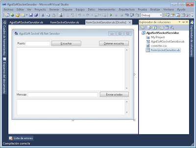 Socket Visual Basic .Net conexión mediante socket VB.Net y System.Net.Sockets