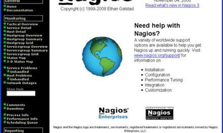 Instalar Nagios, configurar Nagios para monitorizar equipos de la red