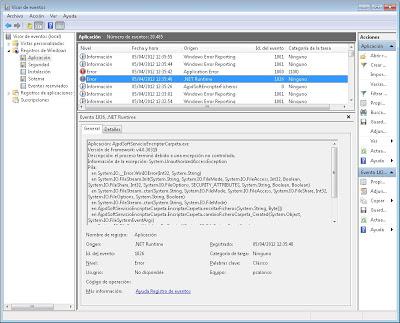 Depuración de una aplicación de Servicio de Windows con VB.Net