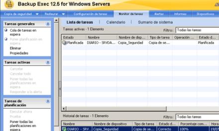 Instalar Symantec Backup Exec en Windows Server 2003