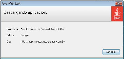 Editor de bloques, Blocks Editor en Google App Inventor para Android
