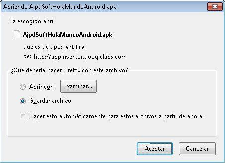 Emulador, sincronización con dispositivo Android conectado al equipo, compilador y empaquetador apk