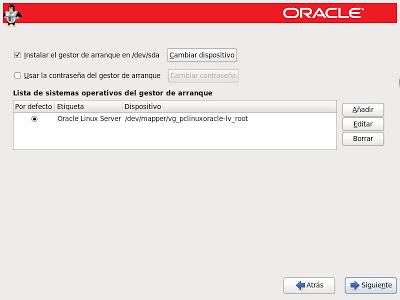 Instalar Oracle Linux 6.4 en modo Database Server