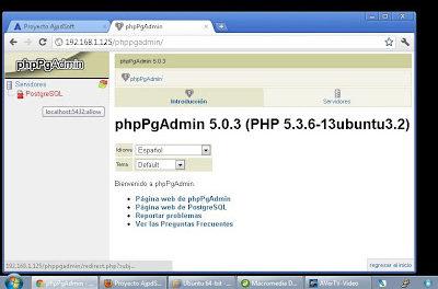 Instalar Linux Ubuntu Server 11 x64, Apache, MySQL, PostgreSQL, Tomcat, Webmin