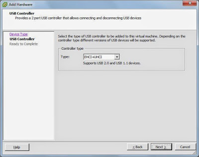 Agregar USB Controller a la máquina virtual W2008 sobre VMware ESXi