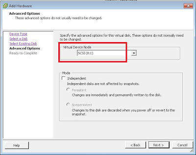 Cambiar disco duro de IDE a SCSI en VMware ESXi 5