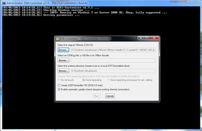 Cómo agregar drivers al fichero ISO de VMware ESXi 5.1 con ESXi-Customizer