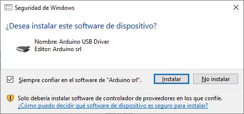 IDE de desarrollo Arduino