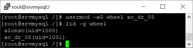 Crear usuario con permisos de administrador en Linux CentOS 7