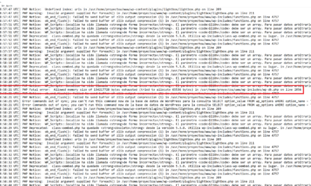 Solución al error en WordPress Ha habido un error crítico en esta web y activar modo debug