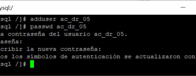 Forma rápida de crear usuario administrador en equipo Linux CentOS 7 para no usar root