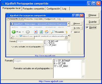 AjpdSoft Portapapeles compartido Código Fuente en Delphi 6