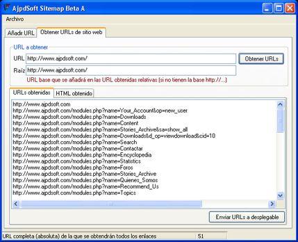 AjpdSoft Sitemap Código Fuente Delphi 6