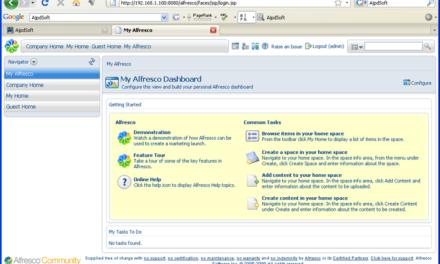 Instalar Alfresco Open Source CMS ECM en Windows Server 2003
