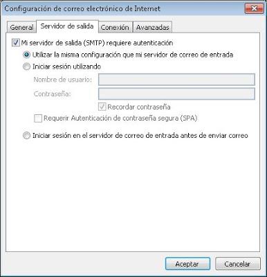 Añadir cuenta de correo electrónico MDaemon a Outlook