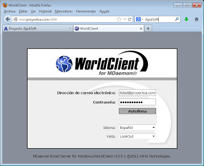 ComAgent, utilidad de MDaemon para chat, control de correo entrante, libreta de direcciones, notificaciones de mail