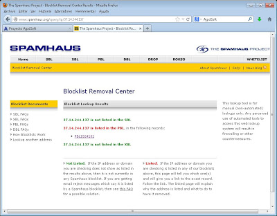 Solución al error: 550-5.7.1 The IP you're using to send mail is not authorized to send email directly to our servers