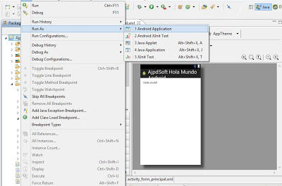 Montar entorno de programación para Android con Eclipse en Windows 8